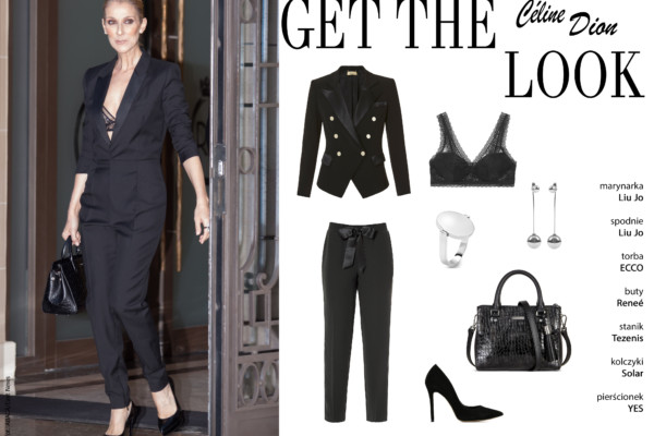 Get the look – Céline Dion