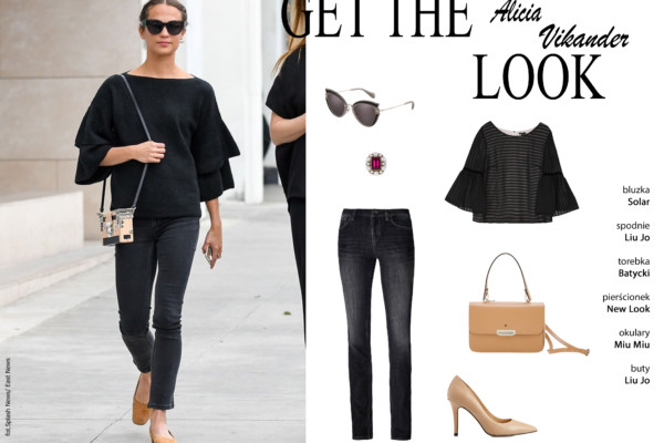 Get the Look – Alicia Vikander